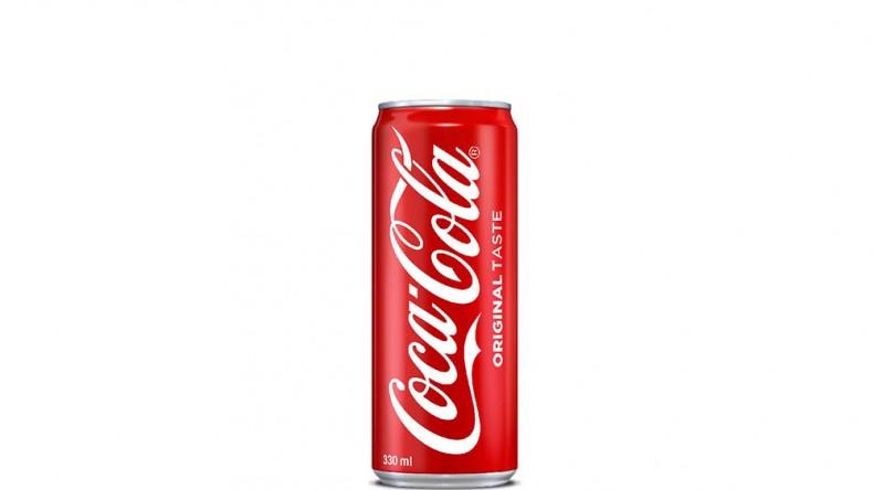 Coca Cola в кен от 330 мл.