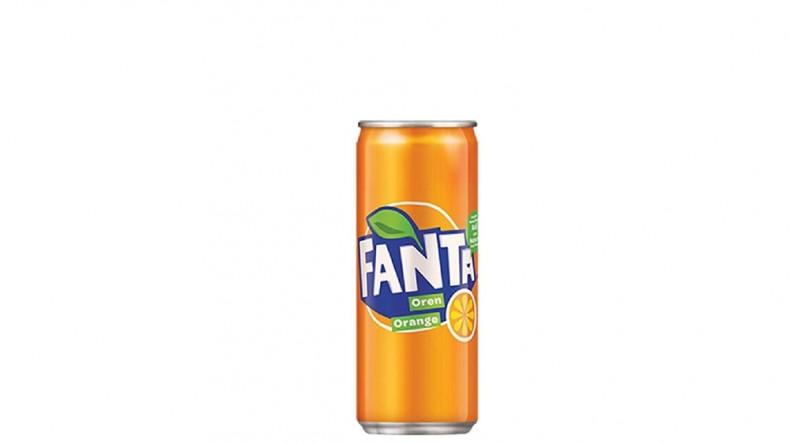 Фанта портокал в кен от 330 мл.
