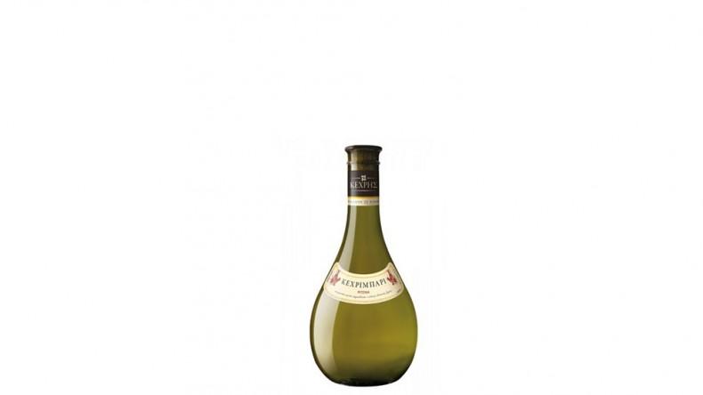 Гръзцко бяло вино в бутилка от 500 мл.